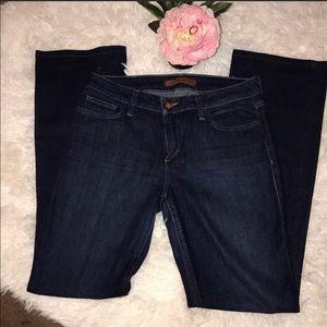 Joe dark was denim jeans